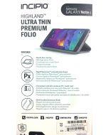 Incipio Highland Ultra Thin Premium Folio Case for Samsung Galaxy Note 4