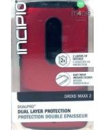 Incipio DualPro Dual Layer Protection Case for Motorola DROID MAXX 2 - Red