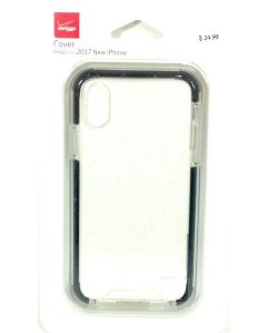 Verizon New Cover Protection Authentic Case For Apple iPhone X 10 - Clear