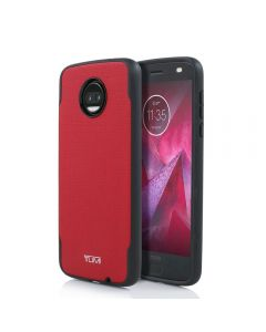 Tumi Coated Canvas New Co-Mold Series Case For Motorola Moto Z2 Force Edition
