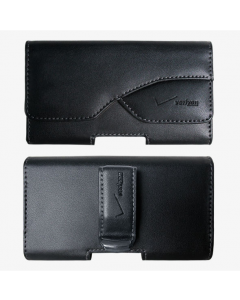 Verizon New Pouch Authentic Leather Protection Case For Most Small Smartphones