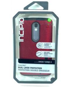 Incipio DualPro Dual Layer Protection Case For Motorola1 Droid Turbo 2 - Lot 10