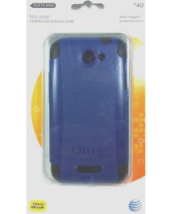 OtterBox Commuter Series Case For HTC One X & One X   - Black/Blue