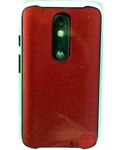 Verizon New Authentic Bumper Protection case for Motorola Droid Turbo 2 - Red