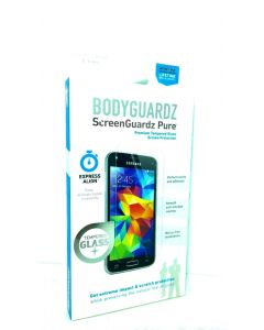 BodyGuardz Pure Tempered Glass Screen Protector for Galaxy S5 Mini - Lot Of 10
