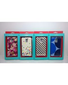 New Kate Spade New York Flexible Hardshell Case for Samsung Galaxy S5