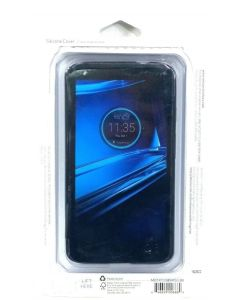 Verizon New Authentic Silicone Protection Case for Motorola Droid Turbo 2 -Black