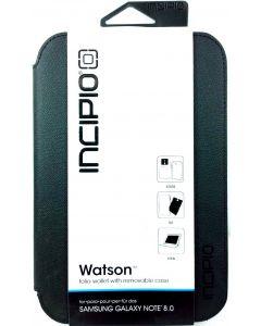 Incipio Wallet Folio, 2-in-1 Case for Samsung Galaxy Note 8.0 - Black