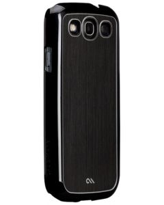 Case-Mate Barely There Brushed Aluminum Case for Samsung Galaxy S3 - Black