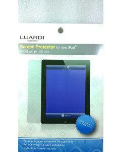 Lot of 5 Luardi Clear Screen Protector for Apple iPad 2,3,4