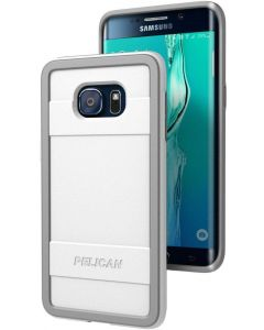 New Pelican Progear Protector Case for Samsung Galaxy S6 edge  - White/Gray