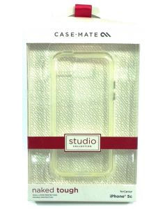 Case-Mate Studio Collection Naked Tough Case for Apple iPhone 5c - Clear