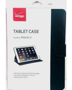 New Original Verizon Tablet Leather Folio Case1 For Apple iPad Air 2 - Lot Of 10