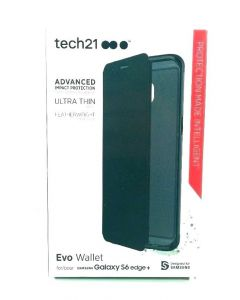 Tech21 Evo Wallet Shock Absorbing Case for Samsung Galaxy S6 Edge Plus
