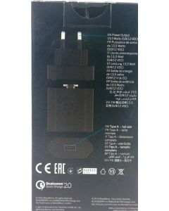 BlackBerry RC-1500 EU Qualcomm Quick Charge 2.0 Rapid Travel Charger