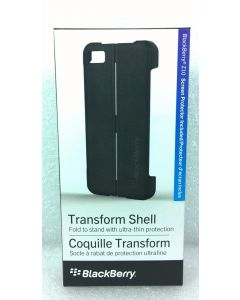 BlackBerry Transform Shell Case W/Screen Protector for BlackBerry Z10 - Black
