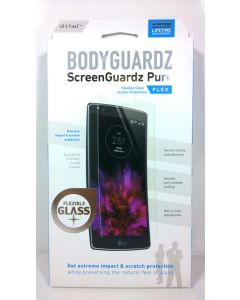 BodyGuardz Pure Flex Tempered Glass Screen Protector for LG G Flex 2 - Lot Of 10