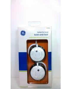 GE Twist and Lock 30MM Premium Driver Headphones