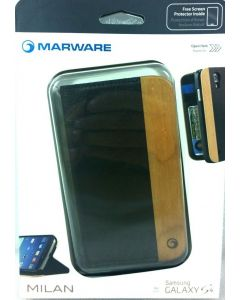 Marware Milan Case W/Screen Protector for Samsung Galaxy S4 - Brown