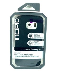 New Hybrid Incipio DualPro  Dual Layer Silicone Case for Samsung Galaxy S6