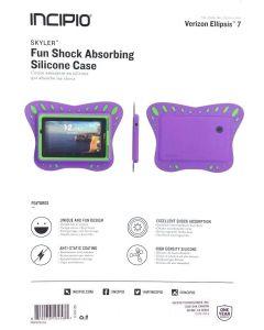 New Incipio Kid Friendly Shock Absorbing Silicone Case for Verizon Ellipsis 7