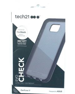 Tech21 Evo Check OEM Shock Absorbing Protection Case for ZenFone V - Smokey Black