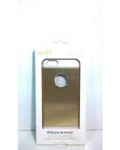 NIB Moshi iGlaze Armour Premium Case for iPhone 6/6s - Satin Gold