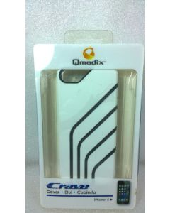 Qmadix Crave Cover Case for iPhone SE/5/5s - White