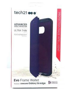 Tech21 Evo Frame Wallet Ultra Thin Protection Case for Samsung Galaxy S6 Edge