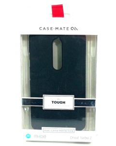 Case Mate Tough Dual Layer Protection Case For Motorola Droid Turbo 2 - Black