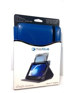 New Marware Axis Universal Rotating Folio Case for 7-Inch Tablets - Blue