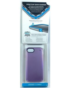 Speck Presidio Metallic Two Layers Protection Case for Apple iPhone 8 / 7 - Purple
