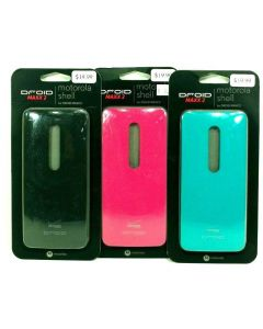 Verizon New 3 Color Bundle Motorola Shell Back Plate Door Cover For Droid Maxx 2