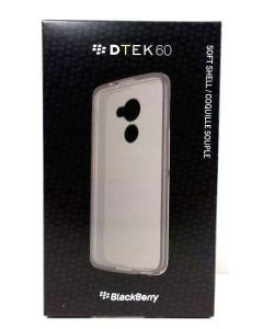 BlackBerry Soft Shell Protection Case for BlackBerry DTEK60 - Black Translucent