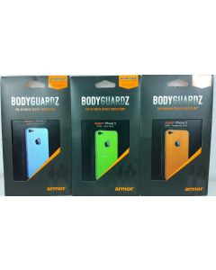 BodyGuardz Armor Rindz Screen Protector/Protective Skin For Apple iPhone SE/5/5s