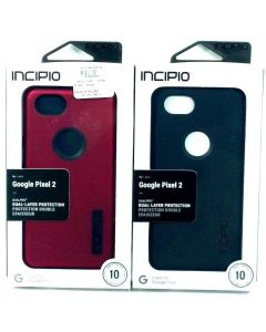 Incipio DualPro Dual Layer Protective Case For Google Pixel 2 - Black Red