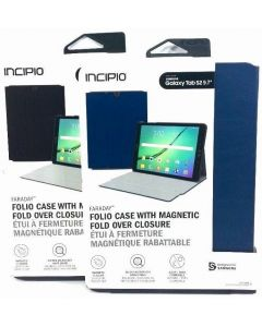 Incipio Faraday Folio With Magnetic Closure Case for Samsung Galaxy Tab S2 9.7""