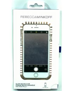 New Rebecca Minkoff Mirror Glow Selfie Case For Apple iPhone 8 / 7 - Rose Gold