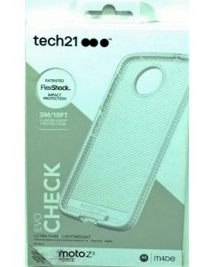 Tech21 Evo Check Ultra Slim Protection Case For Motorola Moto Z2 Force - Clear