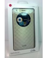 OEM LG Quick Circle Snap On Genuine Folio Case For LG G4 - Gold
