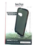 Tech21 Impact Mesh New Authentic Protective Case For HTC One Remix  Smokey Black