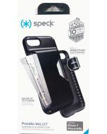 Speck Presidio Wallet Shock Absorbing Slim Protection Case For iPhone 8 / 7 - Black