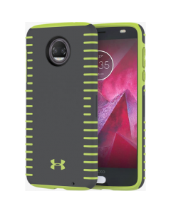 Under Armour New UA Protect Grip Case For Motorola Moto Z2 Force Edition - Gray