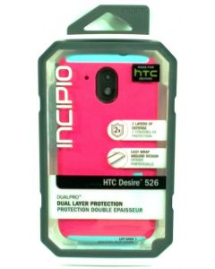 Incipio Dualpro Dual Layer Protection case for HTC Desire 526 - Pink