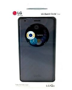 LG Quick Circle Snap On Folio Case For LG G4