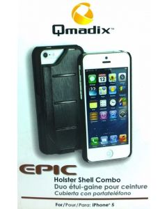 New Qmadix Epic Case Holster Shell Combo for iPhone SE/5/5s