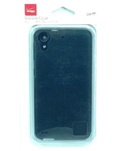 Verizon New Silicone Matte Hard Protection Cover Case For HTC Desire 530 - Black
