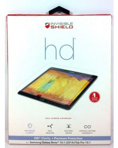 "ZAGG InvisibleSHIELD HD for Samsung Galaxy Note 10.1"" and Galaxy Tab PRO 10.1"""
