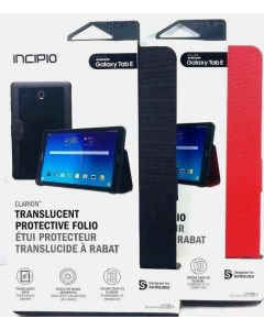 Incipio Clarion Folio With Magnetic Closure Case for Samsung Galaxy Tab E 9.6""