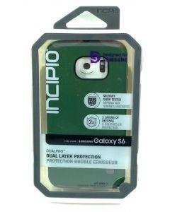 New Hybrid Incipio DualPro Dual Layer Hard Case for Samsung Galaxy S6 - Green